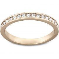 Ladies Swarovski PVD rose plating Size L.5 Rare Ring 52 5032899