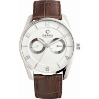 homme Obaku Flint Watch V171GMCIRN
