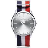Herren Kennett Kensington Silber RWB Nato Uhr
