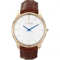 Orologio da Uomo Kennett Kensington Rose Gold White Light Brown KRGWHLGTBRN