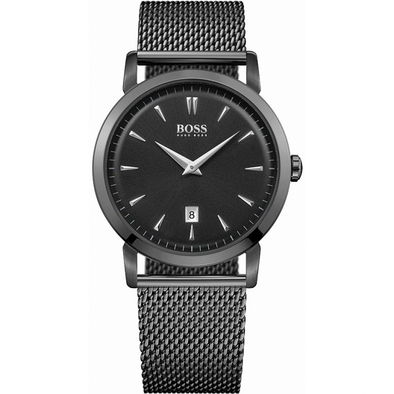 Mens Hugo Boss Slim Ultra Round Watch 1513235