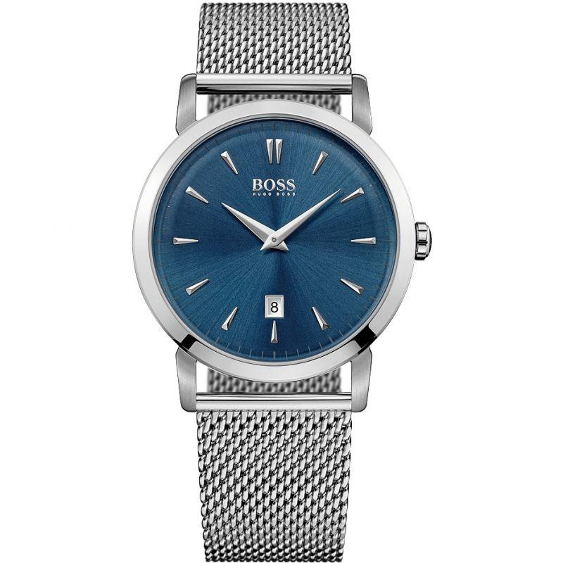 Herren Hugo Boss Slim Ultra Round Watch 1513273