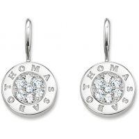 Ladies Thomas Sabo Sterling Silver Glam & Soul Drop Earrings H1862-051-14