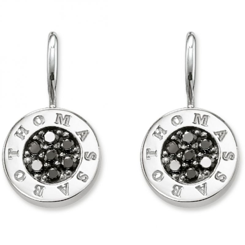 Ladies Thomas Sabo Sterling Silver Earrings H1862-643-11
