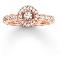 Damen Thomas Sabo Sterlingsilber Größe M.5 Glam & Soul Ewigkeit Ring