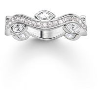 Damen Thomas Sabo Sterlingsilber Größe P.5 Ring