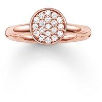 Damen Thomas Sabo Sterlingsilber Größe Q.5-R Ring