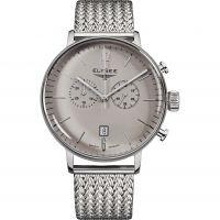 Herren Elysee Stentor Chronograf Uhr