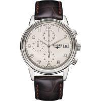 Herren Elysee Vintage Chronograph Watch 80550