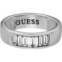 Ladies Guess Stainless Steel Ring Size P