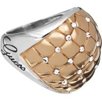 Ladies Guess Stainless Steel Size L.5 Ring UBR51415-52
