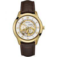 Herren Bulova Meschanisch Automatik Uhr