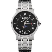homme Elysee Momentum Moonphase Watch 77003