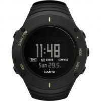 Herren Suunto Core Ultimate Black Alarm Chronograph Watch SS021371000