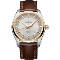 Mens Eterna KonTiki Date Automatic Watch