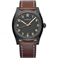 Eterna Limited Edition Heritage Military Herrklocka Brun 1939.43.46.1299