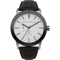 French Connection Herenhorloge Zwart FC1261BE