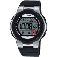 Mens Lorus Alarm Chronograph Watch R2353KX9
