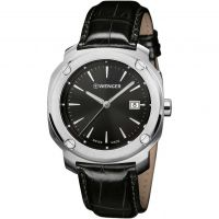Wenger Edge index Herenhorloge Zwart 011141110