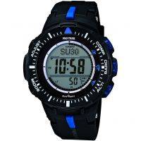 homme Casio Pro-Trek Alarm Chronograph Watch PRG-300-1A2ER