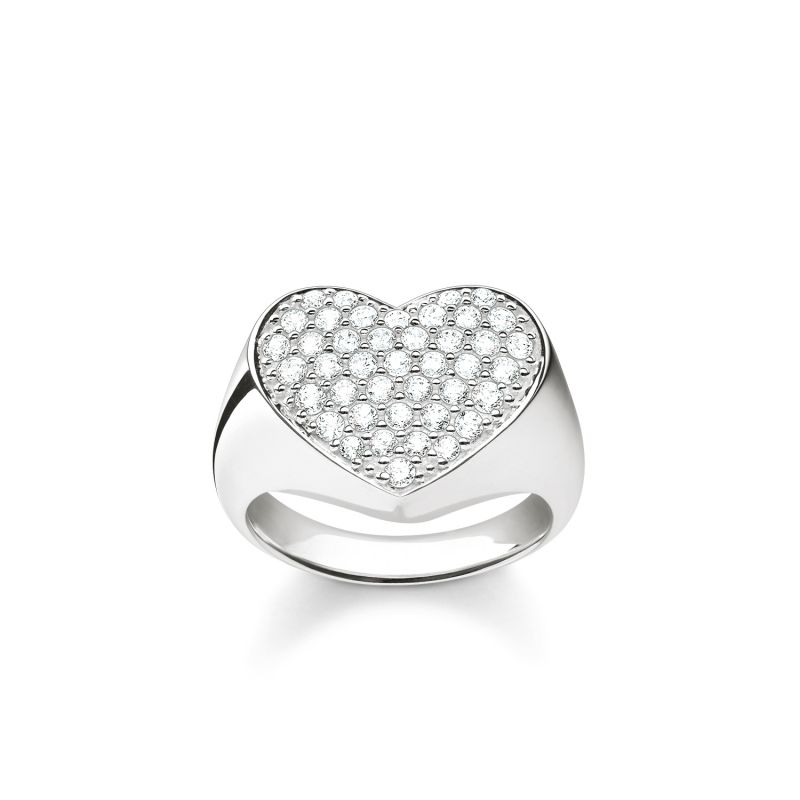 Ladies Thomas Sabo Sterling Silver Size O Ring TR2084-051-14-54