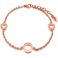 Ladies Folli Follie PVD rose plating Classy Bracelet