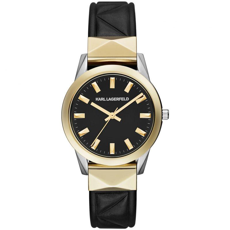 Damen Karl Lagerfeld Labelle Stud Watch KL3802