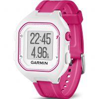 Unisex Garmin Forerunner 25 Bluetooth Smart Alarm Chronograph Watch 010-01353-31