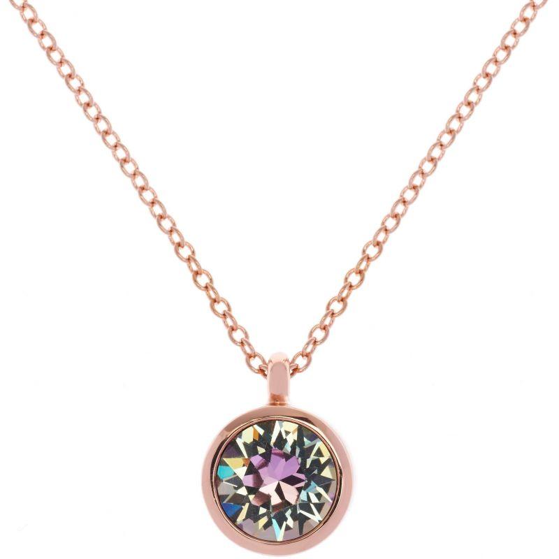 Ladies Karen Millen PVD rose plating Crystal Dot Necklace KMJ869-24-99