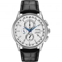 Mens Citizen World Chronograph A-T Chronograph Eco-Drive Watch