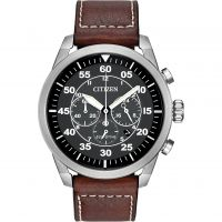 Herren Citizen Avion Chronograf Eco-Drive Uhr