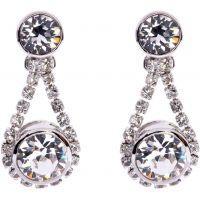 femme Ted Baker Jewellery Stormm Crystal Chain Earring Watch TBJ833-01-02