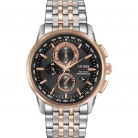 Mens Citizen World Chronograph AT Chronograph Eco-Drive Watch