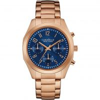 Damen Caravelle New York Melissa Chronograph Watch 44L199