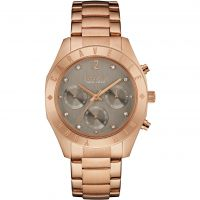 Ladies Caravelle New York Boyfriend Chronograph Watch