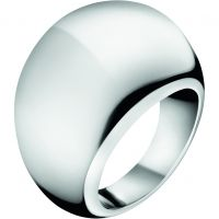Ladies Calvin Klein Stainless Steel Size N Closed Ring