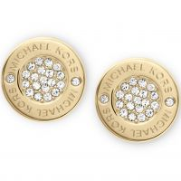 Michael Kors Dam Earrings PVD guldpläterad MKJ3351710