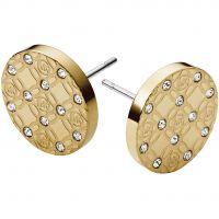 Ladies Michael Kors PVD Gold plated Earrings MKJ4276710