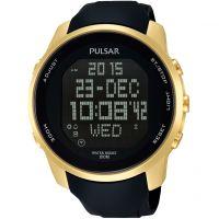 Mens Pulsar Alarm Chronograph Watch