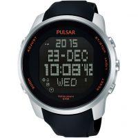homme Pulsar Alarm Chronograph Watch PQ2049X1