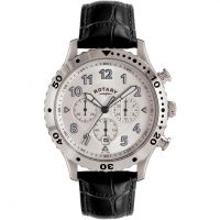 Mens Rotary Exclusive Chronograph Watch