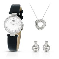 Damen Rotary Exclusive Necklace Gift Set Watch LS00511/41/SET