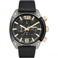Mens Diesel Overflow Chronograph Watch