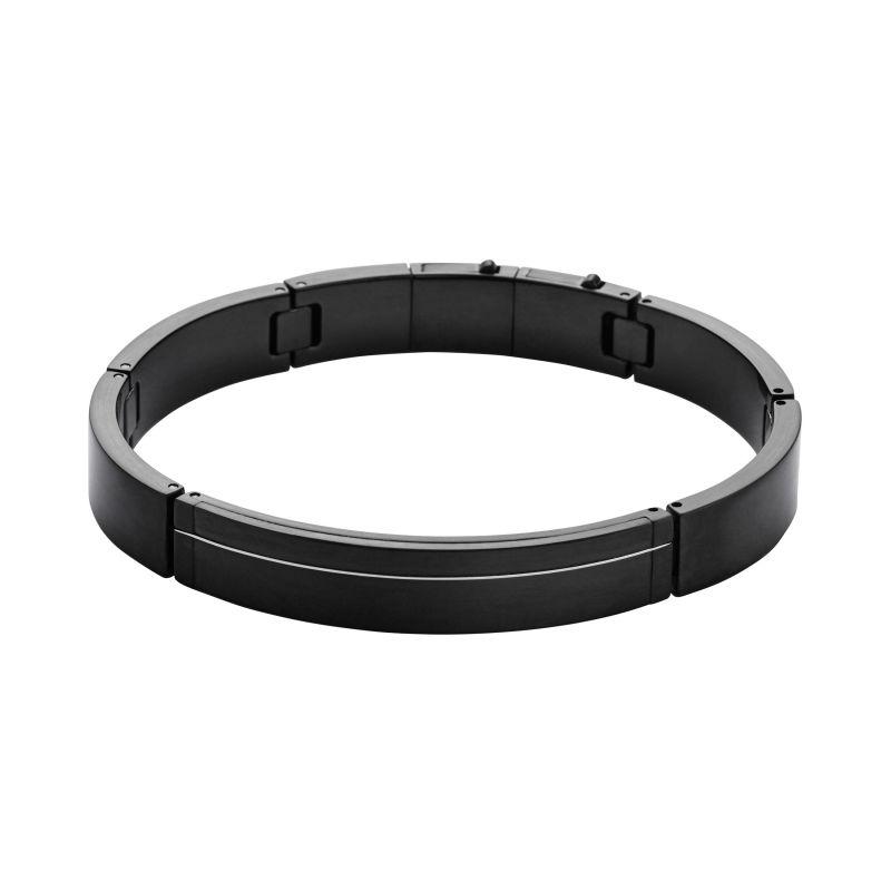 Mens Skagen Black Ion-plated Steel Bangle SKJM0079001