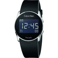 Mens Calvin Klein Future Alarm Watch