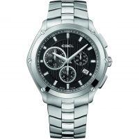 Herren Ebel Sport Chronograph Watch 1216042