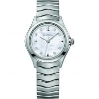 Damen Ebel New Wave Diamond Watch 1216193
