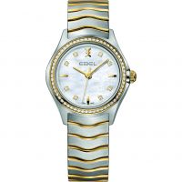 femme Ebel New Wave Diamond Watch 1216351