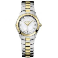 femme Ebel Sport Diamond Watch 1216029