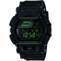 Herren Casio G-Shock Military Black Alarm Chronograph Watch GD-400MB-1ER